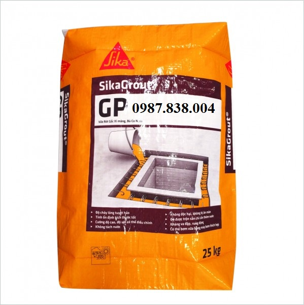 Sika grout GP - Vữa rót gốc xi măng, không co ngót