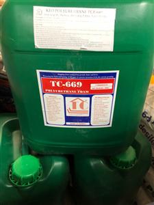 Keo PU trương nở TC - 669 - Foam trương nở Polyurethane