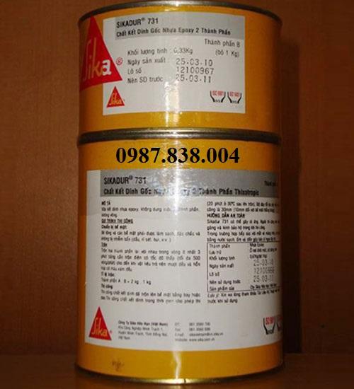SIKADUR 731- Chất kết dính gốc nhựa epoxy 2 thành phần thixotropic